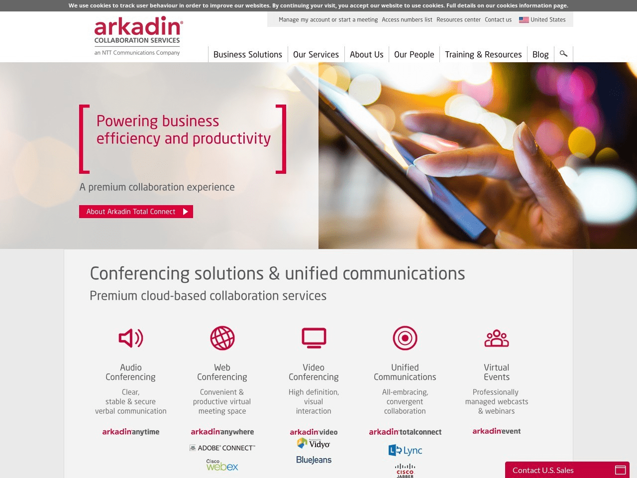 Arkadin Screenshot