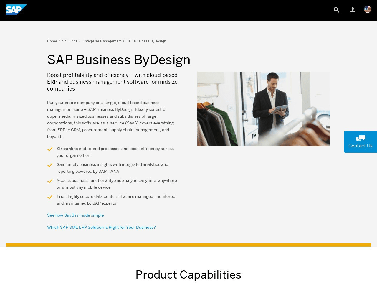 SAP Business ByDesign | review by Inspector Jones
