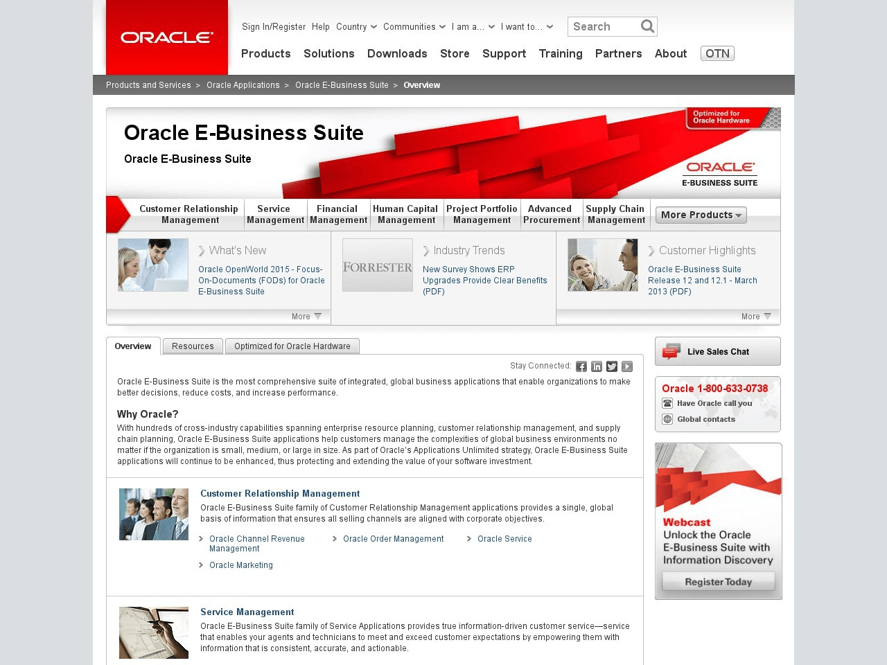 Oracle E-Business Suite Reviews & Ratings | TrustRadius