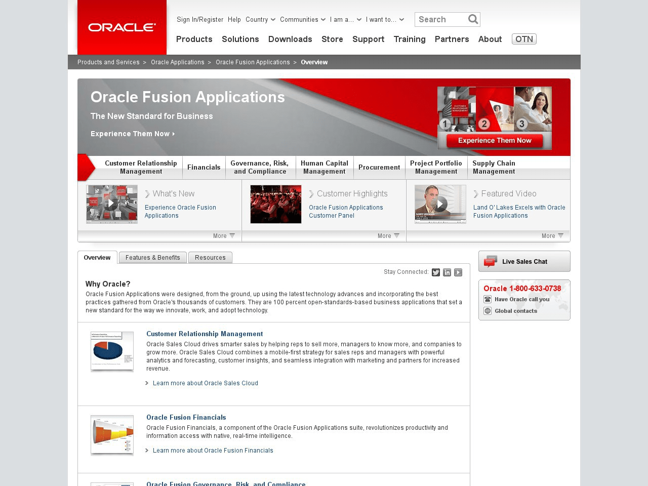Oracle Fusion Applications | review by Inspector Jones