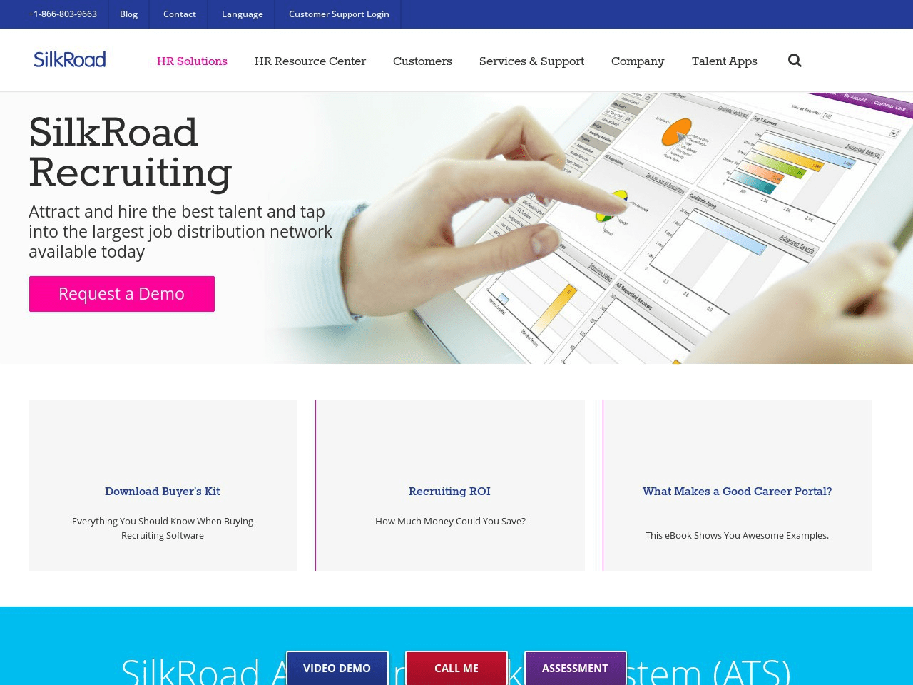 SilkRoad OpenHire Screenshot