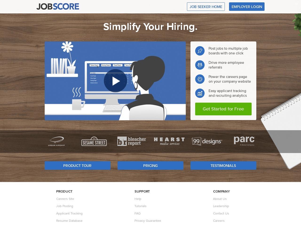 JobScore | review by Inspector Jones