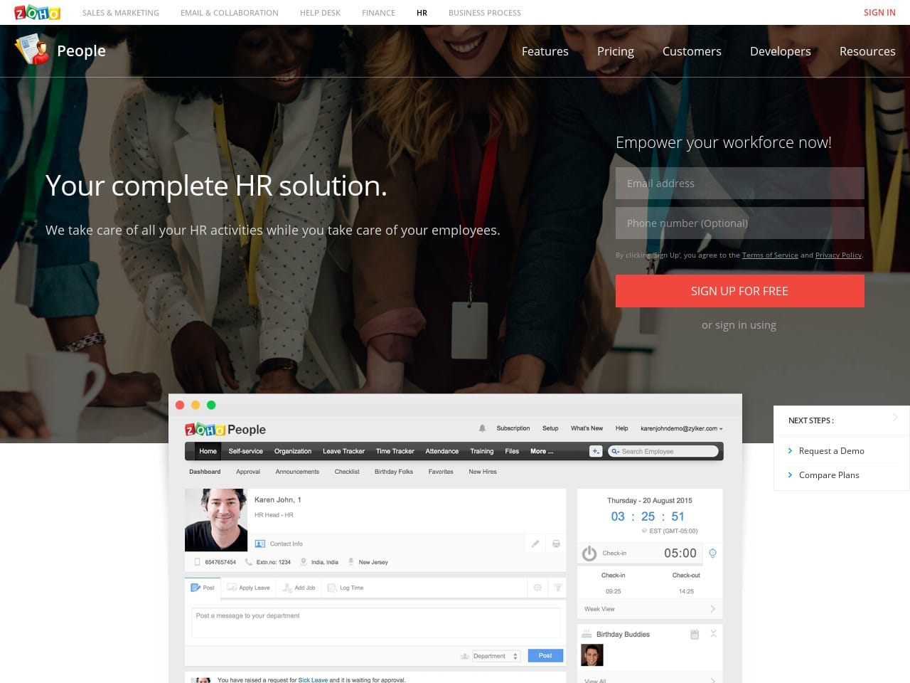Zoho People Review By Inspector Jones